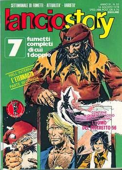 Copertina LANCIOSTORY ANNO 04 n.32 - LANCIOSTORY 1978   32, EDITORIALE AUREA