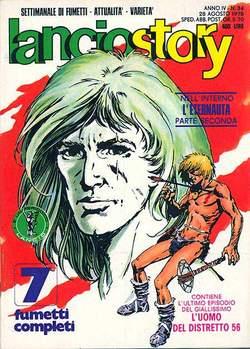Copertina LANCIOSTORY ANNO 04 n.34 - LANCIOSTORY 1978   34, EDITORIALE AUREA