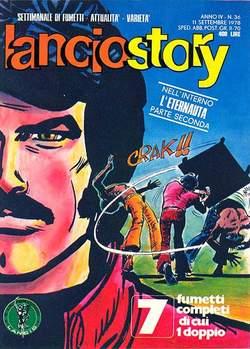 Copertina LANCIOSTORY ANNO 04 n.36 - LANCIOSTORY 1978   36, EDITORIALE AUREA