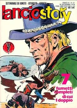 Copertina LANCIOSTORY ANNO 04 n.37 - LANCIOSTORY 1978   37, EDITORIALE AUREA