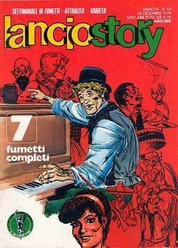 Copertina LANCIOSTORY ANNO 04 n.50 - LANCIOSTORY 1978   50, EDITORIALE AUREA
