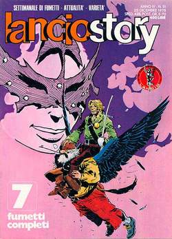 Copertina LANCIOSTORY ANNO 04 n.51 - LANCIOSTORY 1978   51, EDITORIALE AUREA
