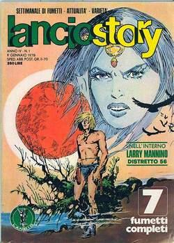Copertina LANCIOSTORY ANNO 04 n.1 - LANCIOSTORY 1978    1, EDITORIALE AUREA