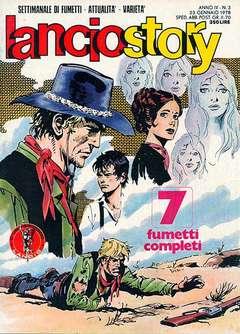 Copertina LANCIOSTORY ANNO 04 n.3 - LANCIOSTORY 1978    3, EDITORIALE AUREA