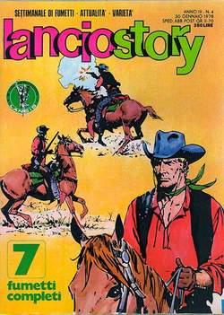 Copertina LANCIOSTORY ANNO 04 n.4 - LANCIOSTORY 1978    4, EDITORIALE AUREA