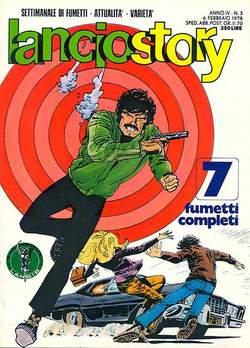Copertina LANCIOSTORY ANNO 04 n.5 - LANCIOSTORY 1978    5, EDITORIALE AUREA