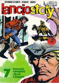 Copertina LANCIOSTORY ANNO 04 n.6 - LANCIOSTORY 1978    6, EDITORIALE AUREA