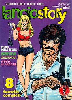 Copertina LANCIOSTORY ANNO 05 n.12 - LANCIOSTORY 1979   12, EDITORIALE AUREA