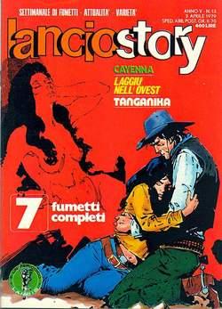 Copertina LANCIOSTORY ANNO 05 n.13 - LANCIOSTORY 1979   13, EDITORIALE AUREA