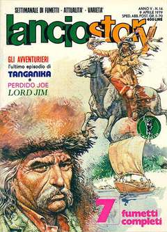 Copertina LANCIOSTORY ANNO 05 n.14 - LANCIOSTORY 1979   14, EDITORIALE AUREA
