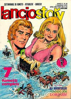 Copertina LANCIOSTORY ANNO 05 n.18 - LANCIOSTORY 1979   18, EDITORIALE AUREA