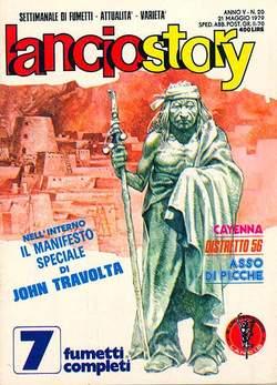Copertina LANCIOSTORY ANNO 05 n.20 - LANCIOSTORY 1979   20, EDITORIALE AUREA