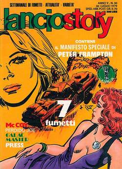 Copertina LANCIOSTORY ANNO 05 n.30 - LANCIOSTORY 1979   30, EDITORIALE AUREA