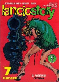 Copertina LANCIOSTORY ANNO 05 n.41 - LANCIOSTORY 1979   41, EDITORIALE AUREA