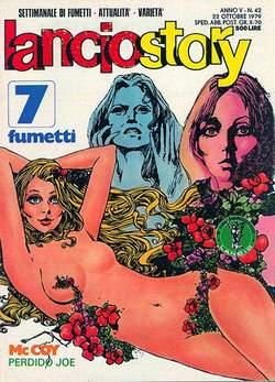 Copertina LANCIOSTORY ANNO 05 n.42 - LANCIOSTORY 1979   42, EDITORIALE AUREA