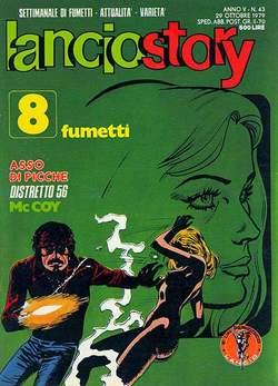 Copertina LANCIOSTORY ANNO 05 n.43 - LANCIOSTORY 1979   43, EDITORIALE AUREA