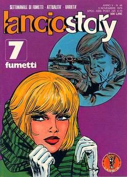 Copertina LANCIOSTORY ANNO 05 n.44 - LANCIOSTORY 1979   44, EDITORIALE AUREA