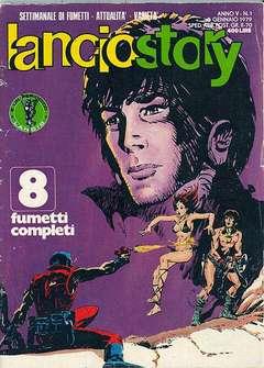 Copertina LANCIOSTORY ANNO 05 n.1 - LANCIOSTORY 1979    1, EDITORIALE AUREA