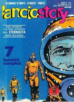 Copertina LANCIOSTORY ANNO 05 n.6 - LANCIOSTORY 1979    6, EDITORIALE AUREA