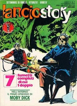 Copertina LANCIOSTORY ANNO 05 n.7 - LANCIOSTORY 1979    7, EDITORIALE AUREA