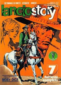 Copertina LANCIOSTORY ANNO 05 n.8 - LANCIOSTORY 1979    8, EDITORIALE AUREA