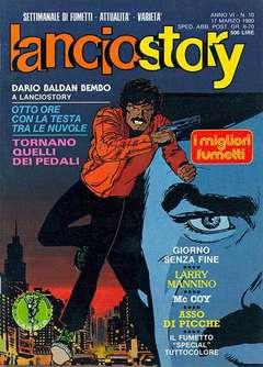 Copertina LANCIOSTORY ANNO 06 n.10 - LANCIOSTORY 1980   10, EDITORIALE AUREA