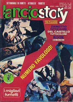 Copertina LANCIOSTORY ANNO 06 n.12 - LANCIOSTORY 1980   12, EDITORIALE AUREA