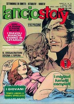 Copertina LANCIOSTORY ANNO 06 n.13 - LANCIOSTORY 1980   13, EDITORIALE AUREA