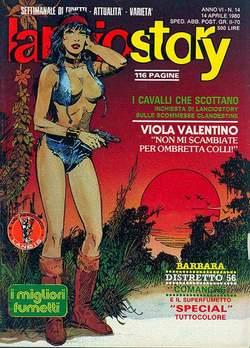 Copertina LANCIOSTORY ANNO 06 n.14 - LANCIOSTORY 1980   14, EDITORIALE AUREA