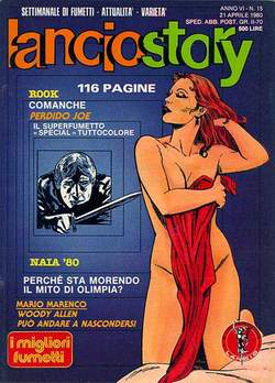 Copertina LANCIOSTORY ANNO 06 n.15 - LANCIOSTORY 1980   15, EDITORIALE AUREA