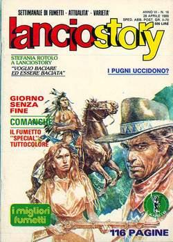 Copertina LANCIOSTORY ANNO 06 n.16 - LANCIOSTORY 1980   16, EDITORIALE AUREA