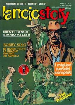 Copertina LANCIOSTORY ANNO 06 n.17 - LANCIOSTORY 1980   17, EDITORIALE AUREA