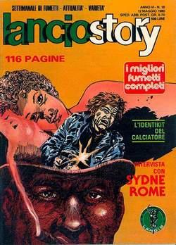 Copertina LANCIOSTORY ANNO 06 n.18 - LANCIOSTORY 1980   18, EDITORIALE AUREA