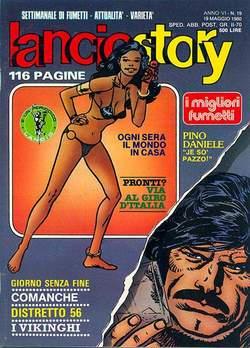 Copertina LANCIOSTORY ANNO 06 n.19 - LANCIOSTORY 1980   19, EDITORIALE AUREA