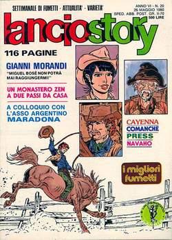 Copertina LANCIOSTORY ANNO 06 n.20 - LANCIOSTORY 1980   20, EDITORIALE AUREA