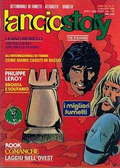 Copertina LANCIOSTORY ANNO 06 n.21 - LANCIOSTORY 1980   21, EDITORIALE AUREA