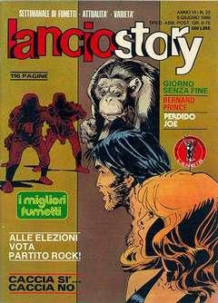 Copertina LANCIOSTORY ANNO 06 n.22 - LANCIOSTORY 1980   22, EDITORIALE AUREA