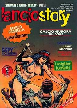 Copertina LANCIOSTORY ANNO 06 n.23 - LANCIOSTORY 1980   23, EDITORIALE AUREA