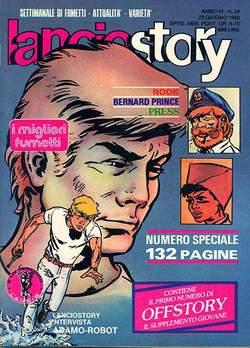 Copertina LANCIOSTORY ANNO 06 n.24 - LANCIOSTORY 1980   24, EDITORIALE AUREA