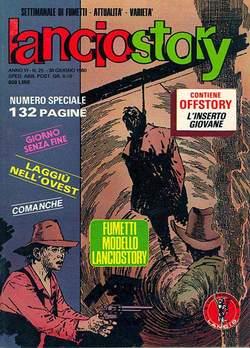 Copertina LANCIOSTORY ANNO 06 n.25 - LANCIOSTORY 1980   25, EDITORIALE AUREA