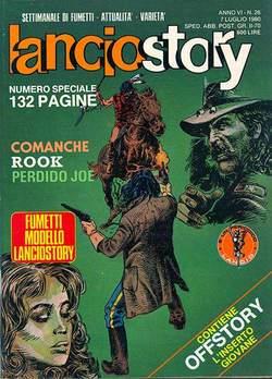 Copertina LANCIOSTORY ANNO 06 n.26 - LANCIOSTORY 1980   26, EDITORIALE AUREA