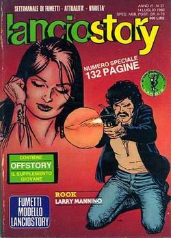 Copertina LANCIOSTORY ANNO 06 n.27 - LANCIOSTORY 1980   27, EDITORIALE AUREA