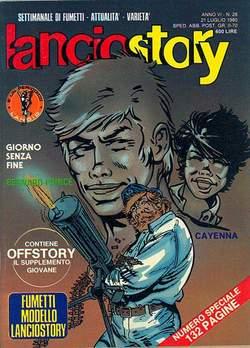 Copertina LANCIOSTORY ANNO 06 n.28 - LANCIOSTORY 1980   28, EDITORIALE AUREA