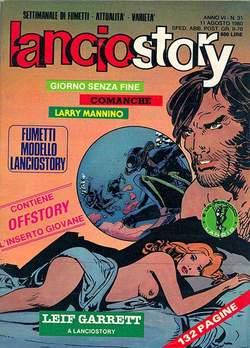 Copertina LANCIOSTORY ANNO 06 n.31 - LANCIOSTORY 1980   31, EDITORIALE AUREA