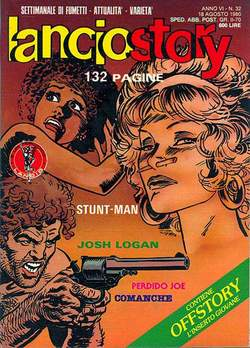 Copertina LANCIOSTORY ANNO 06 n.32 - LANCIOSTORY 1980   32, EDITORIALE AUREA
