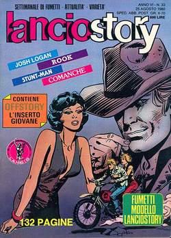 Copertina LANCIOSTORY ANNO 06 n.33 - LANCIOSTORY 1980   33, EDITORIALE AUREA