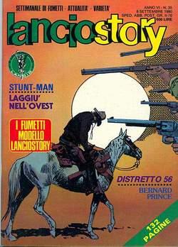 Copertina LANCIOSTORY ANNO 06 n.35 - LANCIOSTORY 1980   35, EDITORIALE AUREA