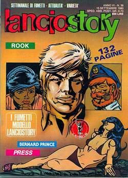 Copertina LANCIOSTORY ANNO 06 n.36 - LANCIOSTORY 1980   36, EDITORIALE AUREA