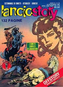 Copertina LANCIOSTORY ANNO 06 n.46 - LANCIOSTORY 1980   46, EDITORIALE AUREA
