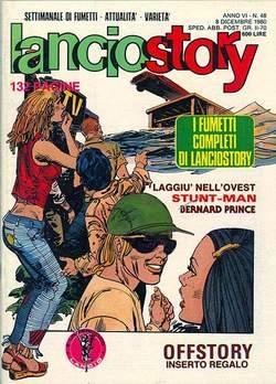 Copertina LANCIOSTORY ANNO 06 n.48 - LANCIOSTORY 1980   48, EDITORIALE AUREA